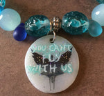 You can't fly with us (Pandora Inspired) Bracelet