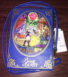 {NWT} Beauty And The Beast Storybook Clasp Purse