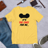 It's The Ears For Me (Mickey) Unisex T-Shirt