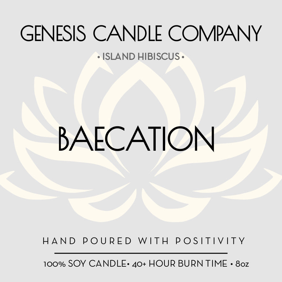 BAECATION. - Genesis Candle Company