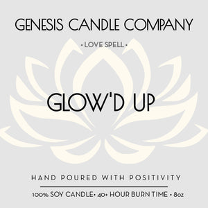 GLOW'D UP. - Genesis Candle Company