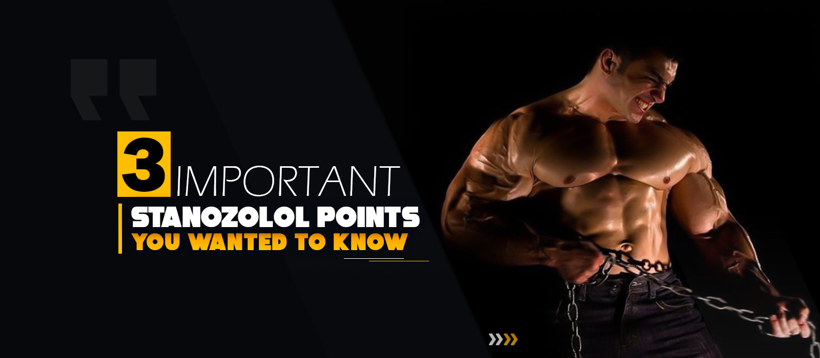 3 Important Stanozolol Points You Wanted To Know