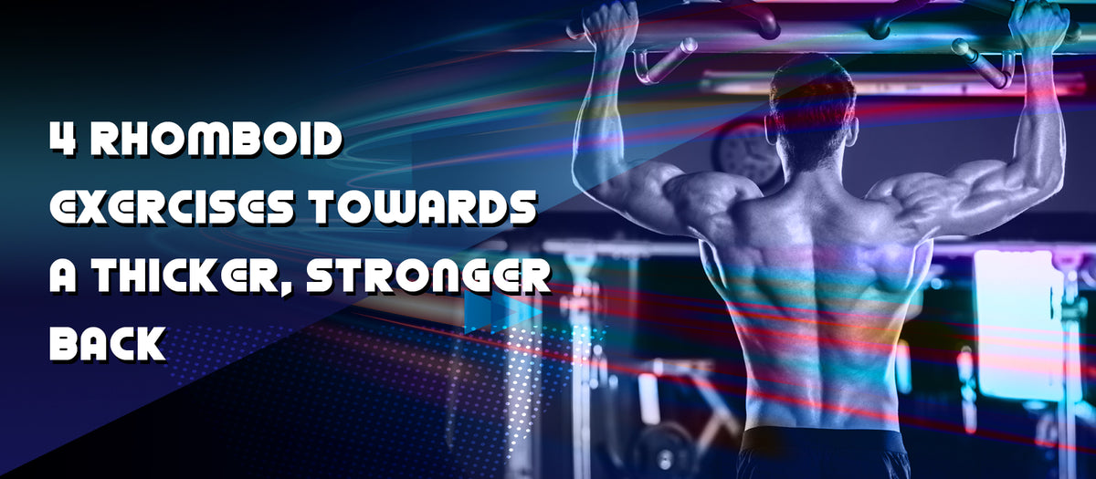 4 Rhomboid Exercises Towards A Thicker, Stronger Back