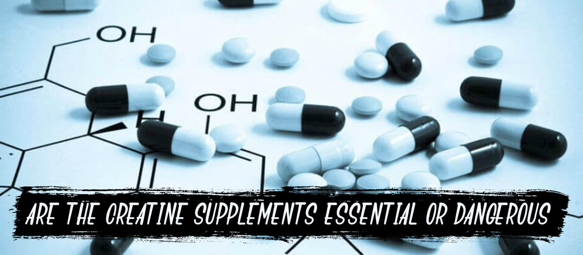 Are The Creatine Supplements Essential Or Dangerous