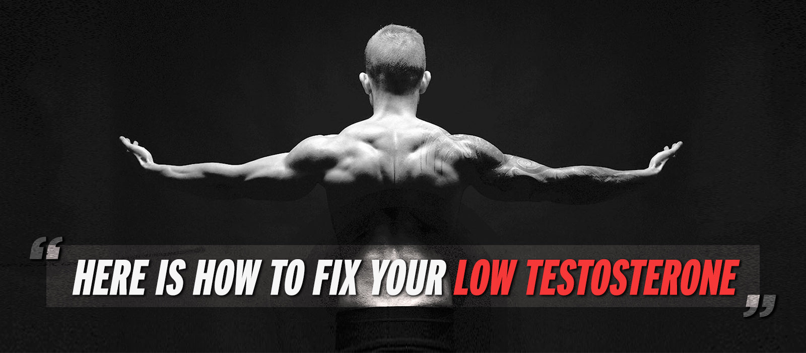 Here Is How To Fix Your Low Testosterone