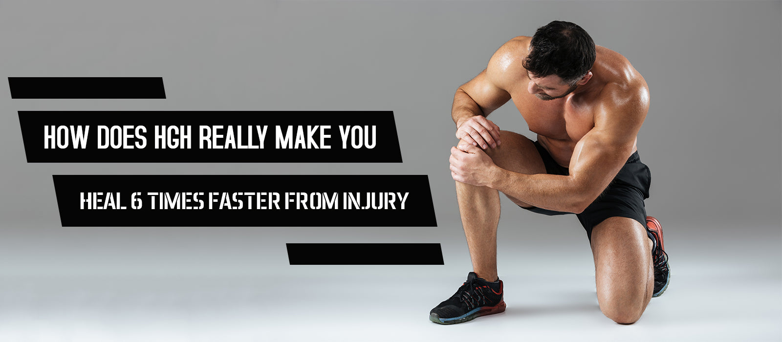 How Does HGH Really Make You Heal 6 Times Faster From Injury