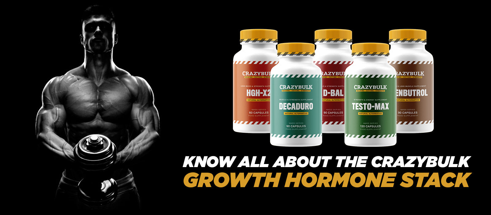 Know All About The CrazyBulk Growth Hormone Stack