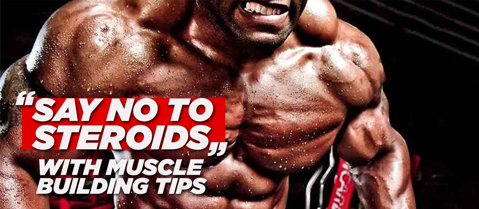 Say No To Steroids With Muscle Building Tips