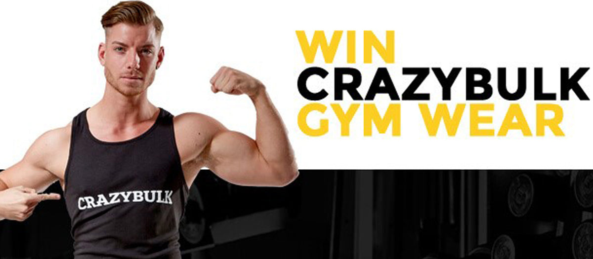 Your Opportunity To Win CrazyBulk Performance Gym Wear