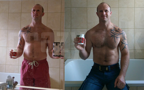 James shows off his amazing Crazy Bulk results with d-bal