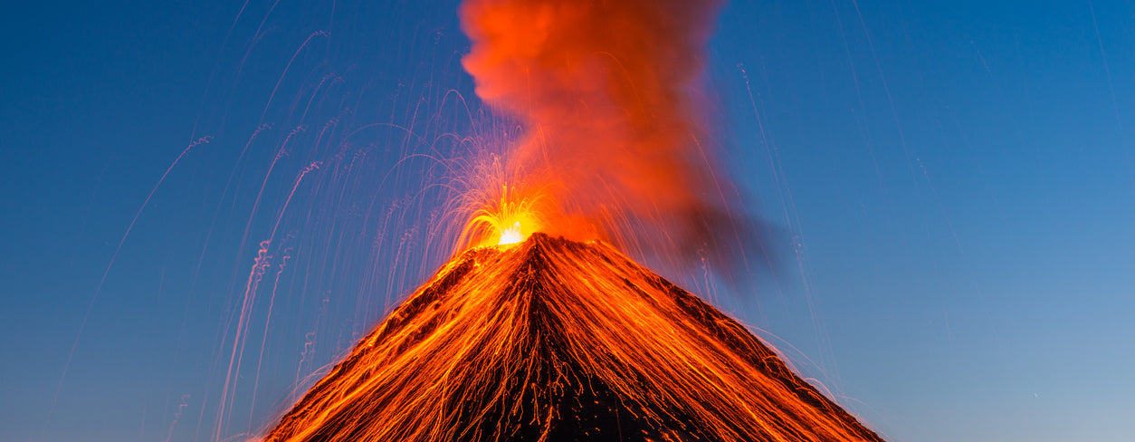 Facts about Volcanoes for Children and Teachers