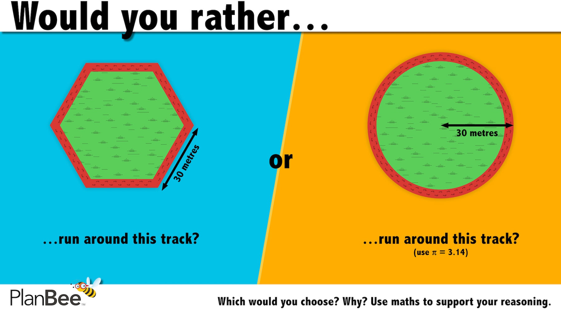 Would you rather…? Maths reasoning questions № 2