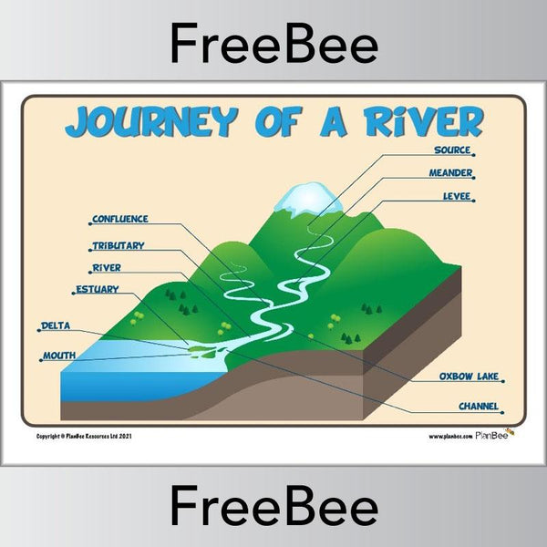 Take a look at our Journey of a River freebee.