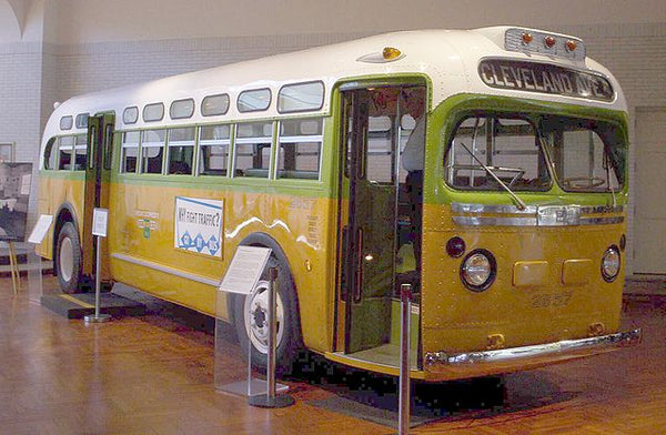 The No. 2857 bus Rosa Parks was riding before her arrest
