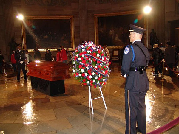 Rosa Parks lying in state
