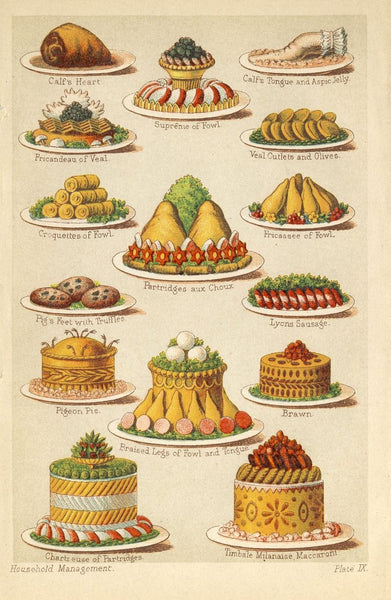 Victorians Facts - A Victorian Cook Book