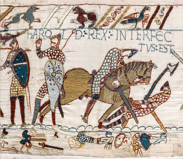 Castles Facts - The Bayeux Tapestry