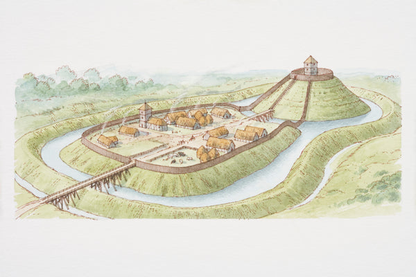 Castle Facts - Motte and Bailey Castles