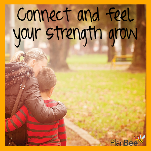 Connect and feel your strength grow
