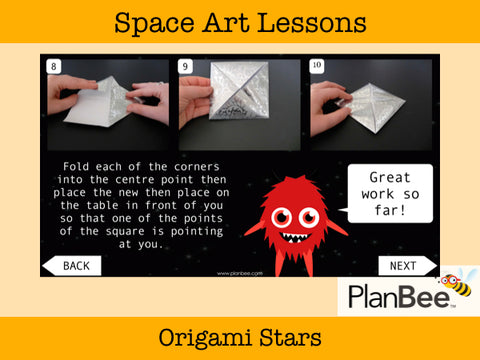 Space Art | One-Off Art Lessons KS2
