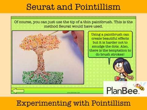 Seurat and Pointillism | One-Off Art Ideas KS2