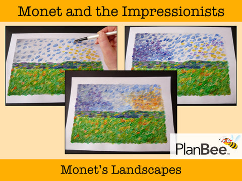 Monet and the Impressionists | One-Off Art Lessons KS2