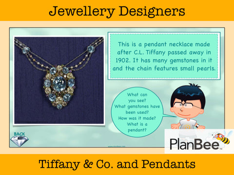 Jewellery Designers | One-Off Art Lessons KS2