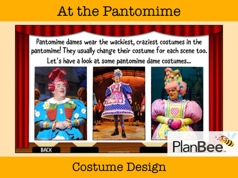At the Pantomime | One-Off Art Lessons KS2