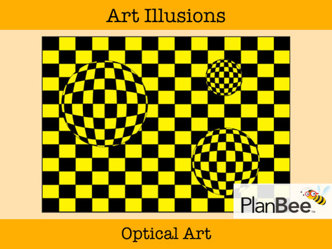 Optical Art | One-Off Art Lessons KS2