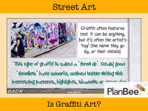 Street Art | One-Off Art Lessons KS2