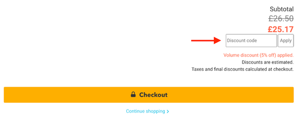 Applying a PlanBee discount code