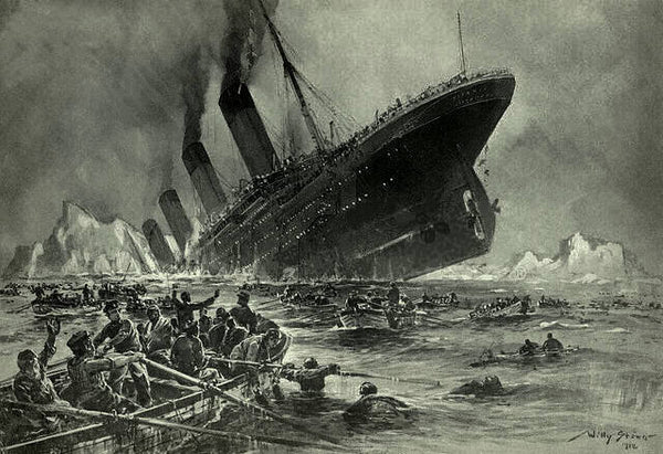 Titanic Facts KS2 - The Sinking of the Titanic