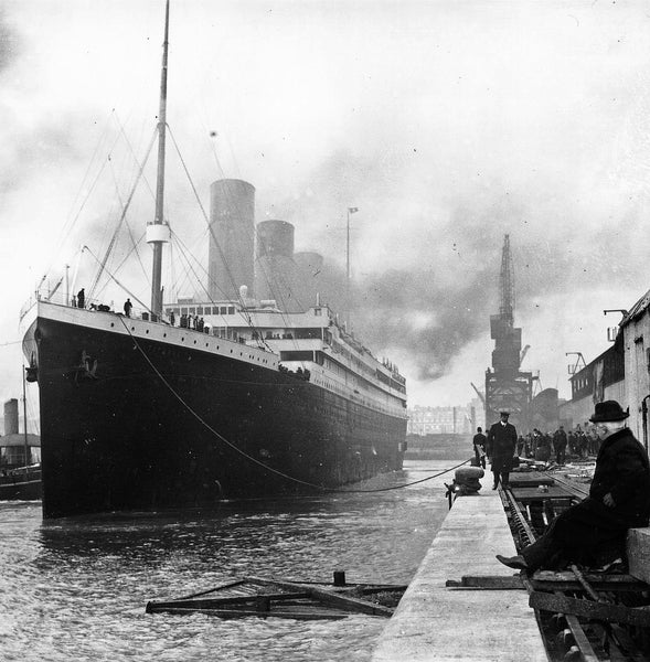 Titanic Facts KS2 - Titanic docked