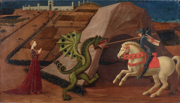 Saint George and the Dragon by Paulo Uccello