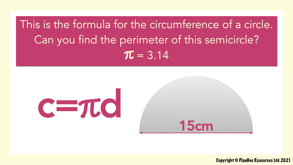 Question 9 - Circumference