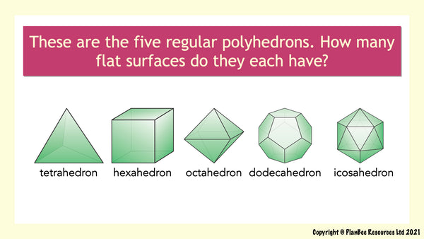 Question 11 - polyhedrons
