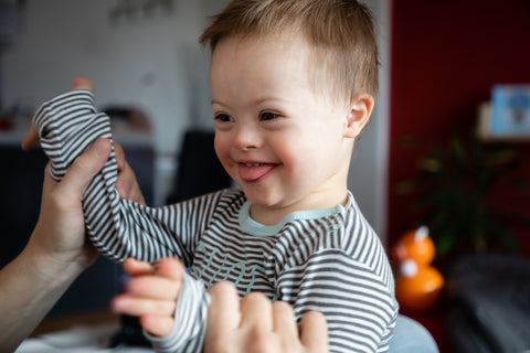 Jeans for Genes | Boy with Down syndrome