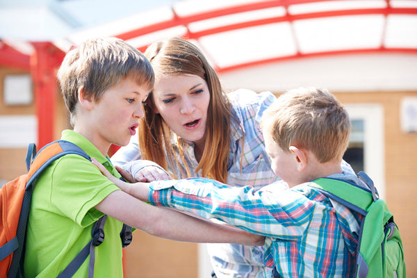 Separate the child from the behaviour