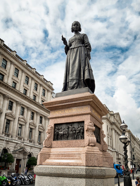 Statue of Florence Nightingale in London