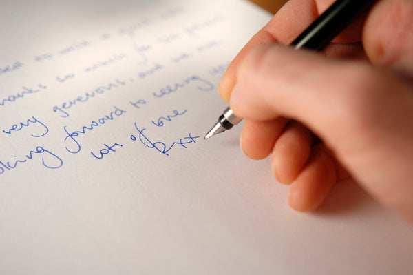 Write a letter for a loved one