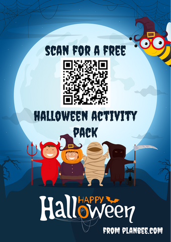 QR code for a Ffee Halloween pack