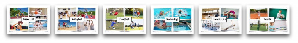 School Sports - Activity Cards