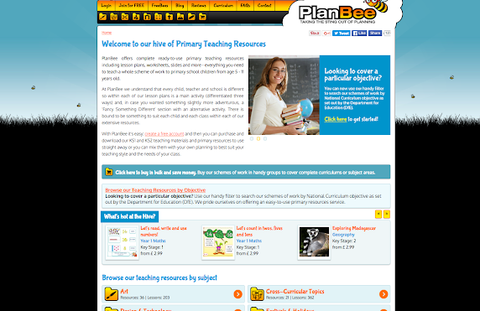 The PlanBee website Version 2