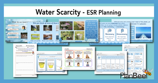 Find our Water Scarcity lessons here