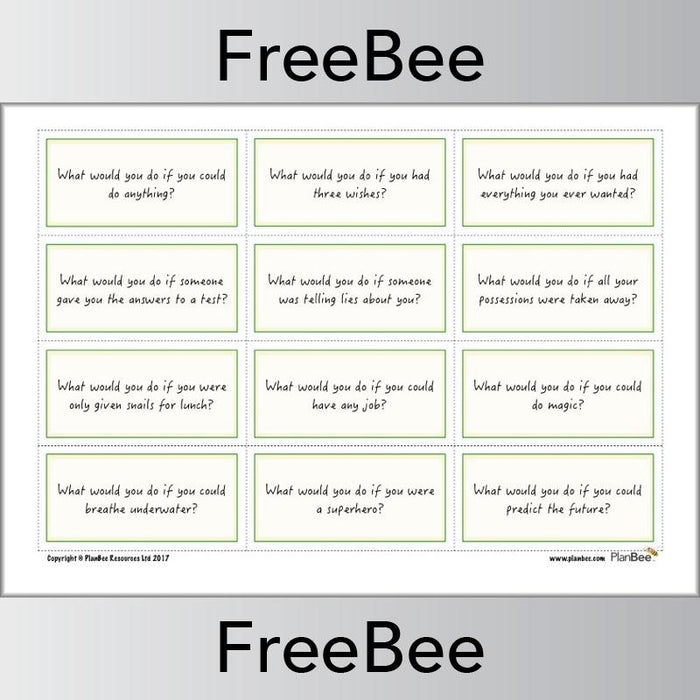 PlanBee Free board game | Free teaching resources | PlanBee