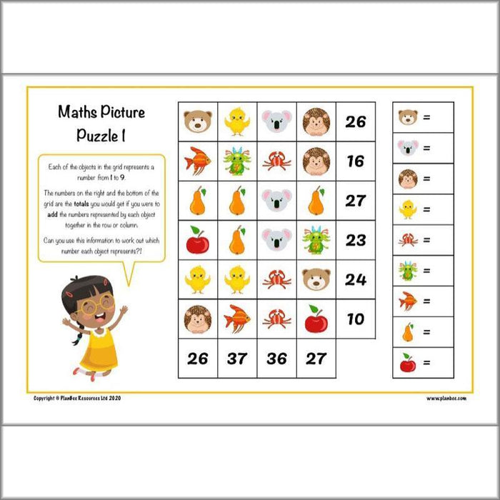 LKS2 Home Learning Pack Maths