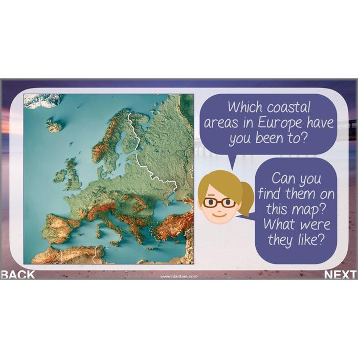 PlanBee Investigating Coasts KS2 Geography Lessons | PlanBee