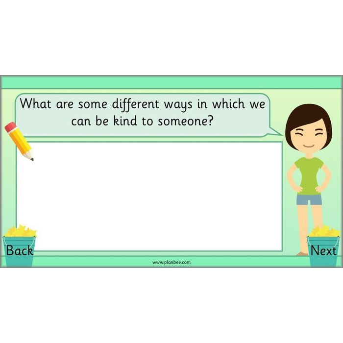PlanBee ESR PSHE Friendship KS1 Being Kind Lessons