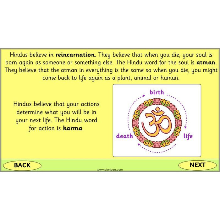 PlanBee What do Hindus Celebrate? Hinduism Celebrations - KS1 RE Lessons
