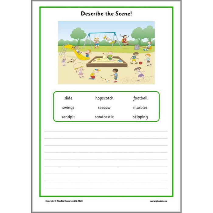 KS1 Home Learning Pack English